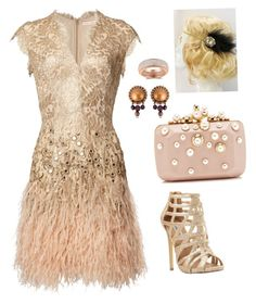 """""""Modern day 20's glam"""" by jessy-packham on Polyvore featuring Steve Madden, Elie Saab, Jean-Paul Gaultier and modern"""