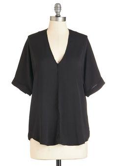You're a Knockout Top | Mod Retro Vintage Short Sleeve Shirts | ModCloth.com