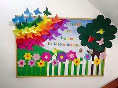 kindergarten and elementary bulletin boards for spring