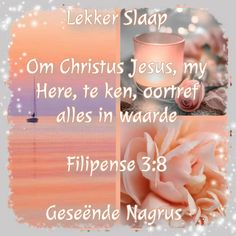 Goeie Nag, Afrikaans Quotes, Sleep Tight, Place Cards, Place Card Holders
