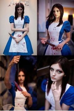 Alice ; America McGees Alice is wonderland ; dark Alice ; twisted Alice ; cosplay