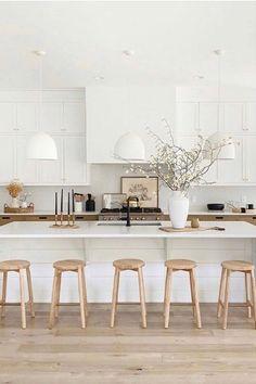 Home Interior Modern .Home Interior Modern Interior Modern, Interior Exterior, Kitchen Interior, Interior Livingroom, Küchen Design, Layout Design, Design Ideas, Cocina Office, Cocinas Kitchen