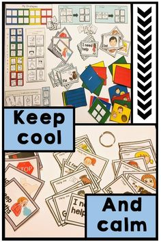 Help your students develop independent coping strategies and help them build their self regulation skills to deal with big negative emotions. Colorful visuals are perfect to use in a calm down corner along with printable activities for kids with autism to help strengthen their self control. Print, laminate and use as visual reminders to remind students exactly what to do to manage their feelings. #selfregulation #copingstrategies #autism #selfcontrol #angermanagement Social Behavior, Behavior Management, Skills To Learn, Learning Skills, Calm Down Corner, Social Skills For Kids, Self Monitoring, Printable Activities For Kids, Self Regulation