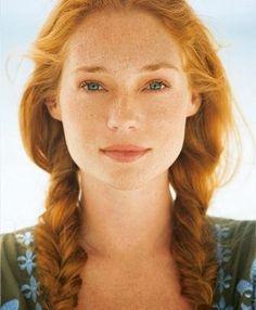 model inspiration: big, soft, red hair - beautiful faire skin