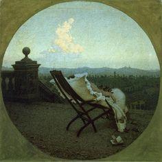 """ S'avanza (Twilight), Angelo Morbelli 1894-1896 """