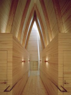 St. Henry's Ecumenical Art Chapel by Sanaksenaho Architects