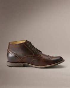 Phillip Wingtip Chukka - View All Men's Boots - The Frye Company $258 #Mens #boots #dress