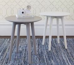 Modern Spindle Side Table #pbkids