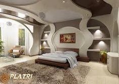 Awesome Futuristic Bedroom Interior Design You Can Try - My Dream House Bedroom False Ceiling Design, Modern Bedroom Design, Modern Design, Bedroom Designs, Elegant Home Decor, Elegant Homes, Futuristic Bedroom, Plafond Design, Awesome Bedrooms