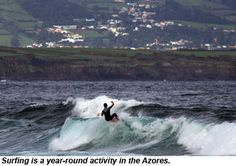 Surf's up all the time in the Azores - via Travel Weekly 15.08.2012 | There is a lot to like about the Azores, the archipelago that is technically the closest point in Europe to the U.S., from scenic volcanoes and lakes to 15th century architecture. But surfing? Actually, the nine islands that comprise the Azores, classified as autonomous regions of Portugal, offer such robust wave action that Sao Miguel Island routinely hosts a series of professional surfing competitions in Ribeira…