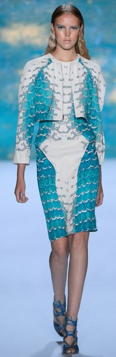 Monique Lhuillier Spring Summer 2013 Ready-To-Wear Collection    The House of Beccaria#
