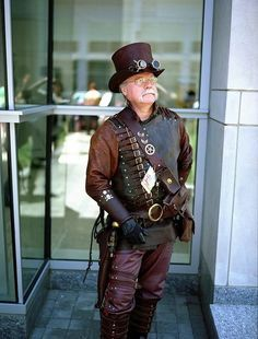 Steampunk is for all who are young at heart.