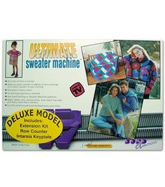 The Ultimate Sweater Machine 'Deluxe' Model: knitting machines: needle arts: Shop   Joann.com $174.99