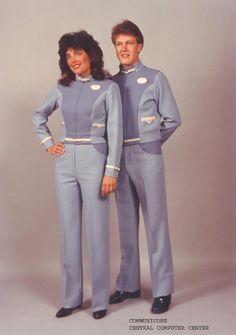 These were the communicore costumes - now they are considered - gasp- Vintage Disney Cast, Old Disney, Disney Magic, Disney Tips, Disney World Fl, Walt Disney Parks, Vintage Disneyland, Tokyo Disneyland, Walter Elias Disney