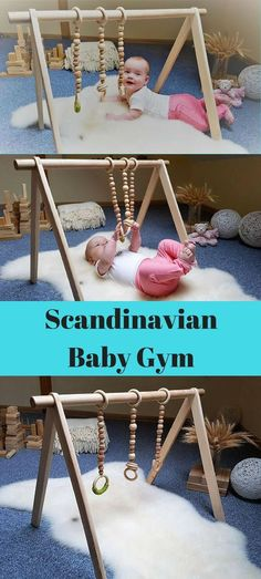 This would be a baby shower gift to talk about for years to come! Woodland Nursery Boy, Girl Nursery, Nursery Decor, Scandinavian Baby, Airplane Nursery, Adventure Nursery, Play Gym, Montessori Toys, Activity Centers