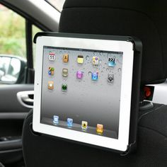 Now you can make every journey joyful, by mounting your iPad or iPad 2 on the back of your car headrest. Passengers can enjoy music and movies hand-free, or play games in comfort. Never before has the back of a seat been so useful! Please allow 3-7 days for delivery.