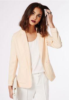 Tiffany Premium Blazer - Blazers - Missguided