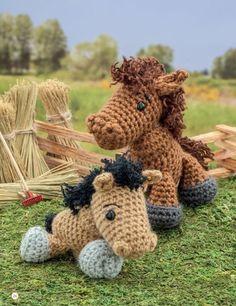 Crochet a Farm: 19 Cute-as-Can-Be Barnyard Creations horse & pony