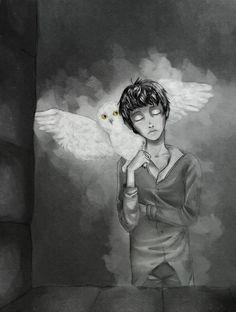 Sad but Cool Harry Potter Art