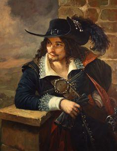 17th century french horseman.
