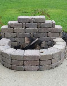90 top Choices Backyard Fireplace Design Ideas - How to Build A Multi Purpose Fire Pit for Your ? 90 top Choices Backyard Fireplace Design Ideas - How to Build A Multi Purpose Fire Pit for Your Cool Fire Pits, Diy Fire Pit, Fire Pit Backyard, Backyard Patio, Backyard Landscaping, Backyard Seating, Landscaping Ideas, Garden Pool, Best Fire Pit