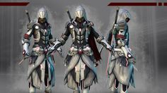 Futuristic Assassins Creed Concept, Amazing!