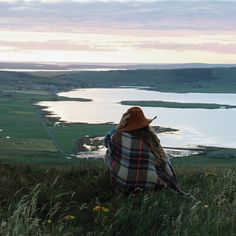 """""""Wideford Hill, Orkney. Photo 3 of 9 by Fiona Annal [@fionaannal], this week's featured Scottish Instagram account. ---------- Fiona—""""The view from the top…"""""""