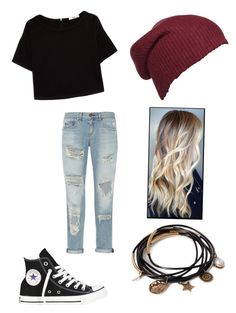 Untitled #240 by lia-directionesse on Polyvore featuring polyvore, fashion, style, MANGO, rag & bone, Converse and Forever 21