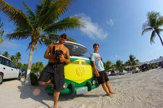 Dos mochileros en busca de la felicidad por América Latina.
