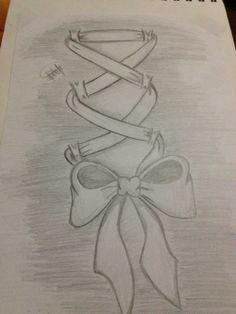 corset bow