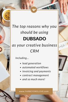 Why I Use Dubsado A Crm For Creatives  Contract Management
