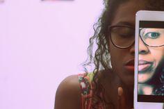 #espelho #mirror #autorretrato #selfieportrait #mulhernegra #blackwoman