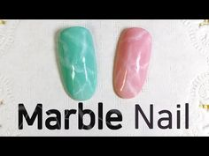 How To: Easy Aventurine Stone Marble Nail Art - Smooshy Stamping Technique || Marine Loves Polish - YouTube