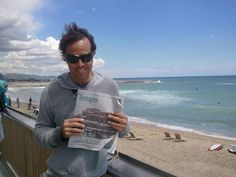Now being read in Spain! Ivan Knight poses with Tempo while in Barcelona.
