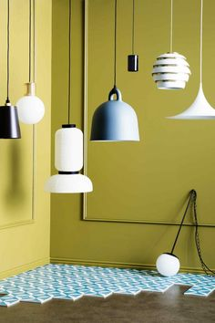 Pendant lights to get up and glow. Photography by Sam McAdam-Cooper. Styling by…