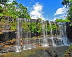 Temam Waterfall Strait Of Malacca, Palembang, Paradise Island, Natural Resources, Cool Wallpaper, Southeast Asia, Beautiful Places, Explore, Design Tech