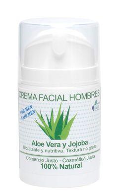 Crema facial para hombres de aloe vera - 14,90€