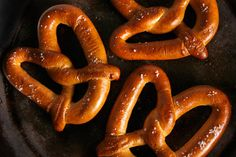 Soft Pretzels - for baking soda/water - use 10cups water, 2/3c. soda and boil pretzels 30seconds a side