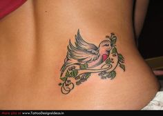 bird with a heart breast