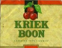 Label van Boon Kriek