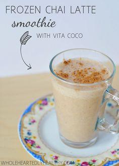 Recipe: Frozen Chai