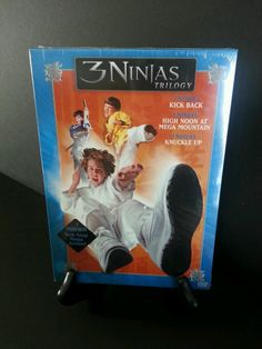 3 NINJAS TRILOGY (3-disc Boxset) Kick Back High Moon Knuckle BRAND NEW SEALED