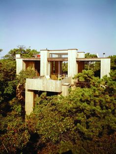 Fishman house - Fire Island Pines -Horace Gifford - Long Island