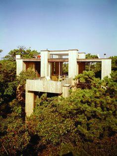 Fishman house - Fire Island Pines -Horace Gifford - Long Island