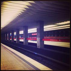 U-Bahn Haltestelle in München