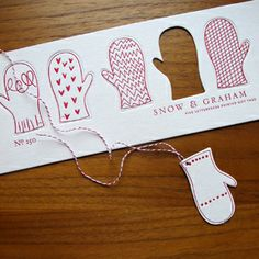 hope I can remember these for  grands gift mittens