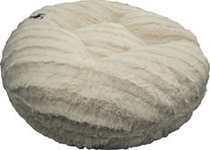 BESSIE AND BARNIE 42-Inch Bagel Bed for Pets, Large, Natural Beauty >>> Review more details here : dog beds