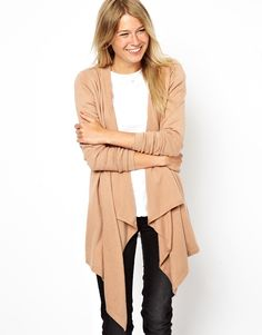 Cardigan ... I love this this the way it is tapered! One of my favorite styles for a cardigan! - PC