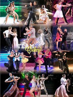 #teamcrikey dances through the season #dwts #dancingwiththestars
