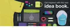 Get fresh products and trends for your marketing events with the new Idea Book.
